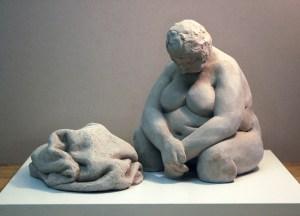 Fine art figurative sculpture by Geemon Xin Meng, Vancouver Sculpture Studio