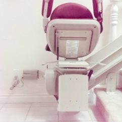 Bruno Chair Lift Maintenance Ashley Furniture And Ottoman Full Radius Curved Stairlift | Vancouver Stairlifts