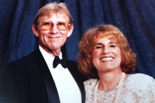 Francine Hardaway and her husband, the late Dr. Gerry Kaplan.
