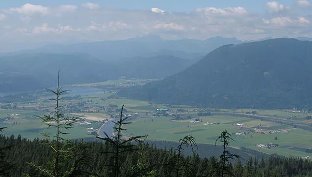 Sumas Mountain hike in the Fraser Valley Abbotsford BC