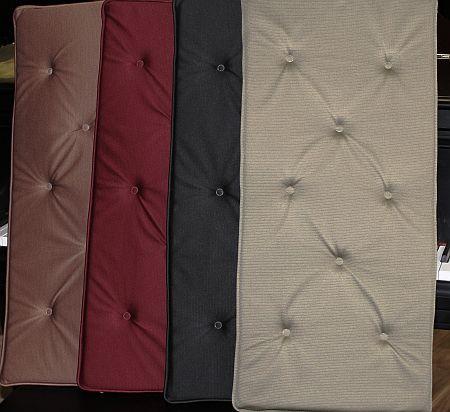 Premium Fabric Piano Bench Cushions Amp Pads Free Shipping
