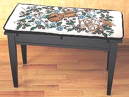 Tapestry Piano Bench Cushion Violins Amp Horns Cushion Pads