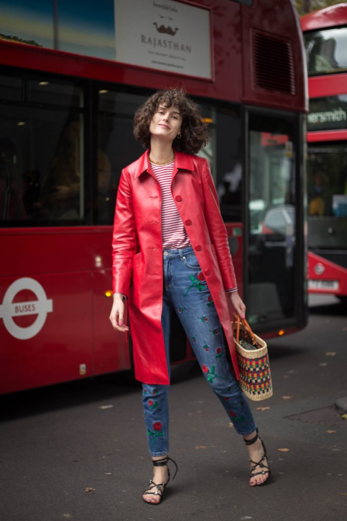 London Fashion Week Street Style Spring Summer 2018 by Nanao Kuroda