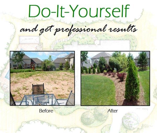 diy landscaping and gardening