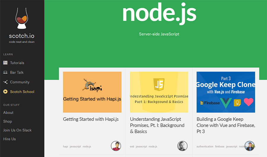 Best Free Node Js Tutorials & Resources For Beginners
