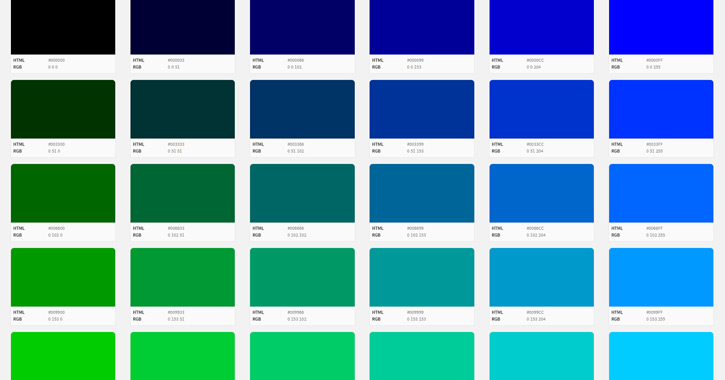 Building With Web Colors Codes Tools And Design Tips