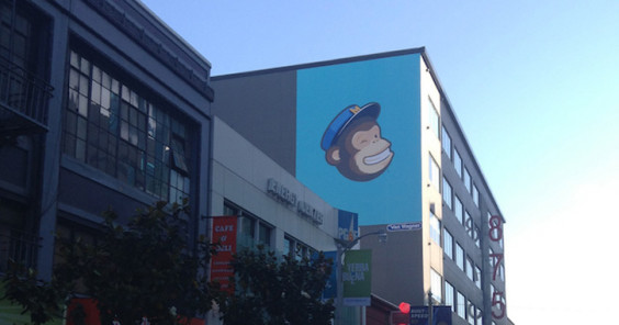 mailchimp email marketing poster