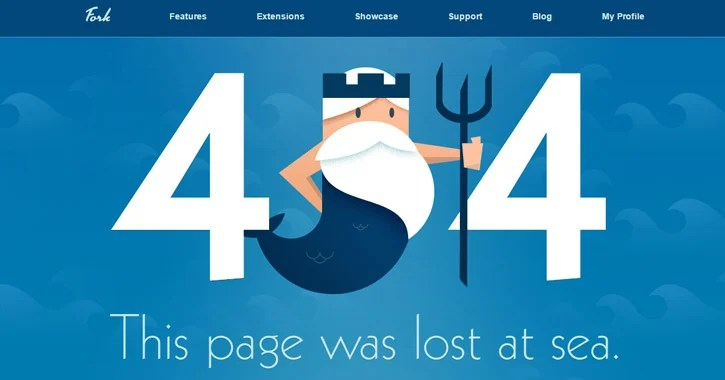 404 Error Page Design Examples & Usability Trends