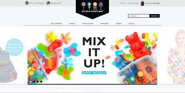 30 Yummy Dessert And Candy Website Designs
