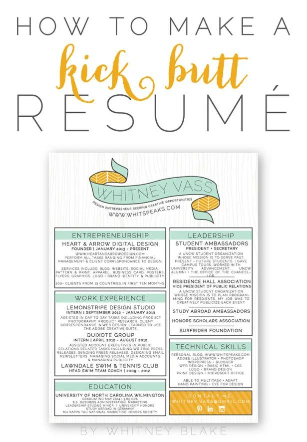 tips on making a resumes