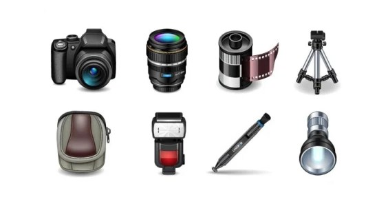 Photography Icons – Free Downloads!