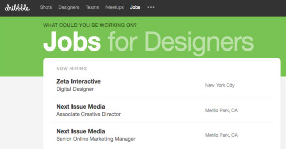 Awesome Sites for Finding Web Design Jobs