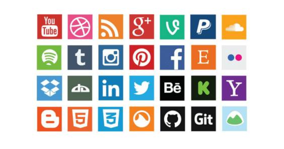 50+ Sets of Free Social Media Icons