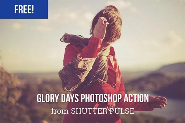 Glory Days Photoshop Action