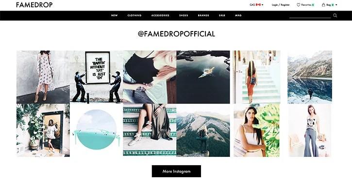 6 Ways To Integrate Instagram In Web Design