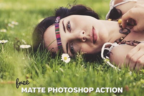 Matte Photoshop Action