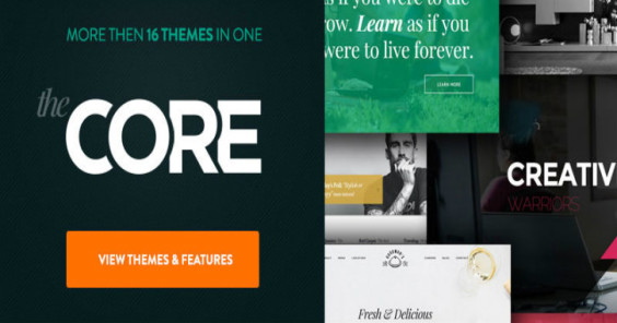 10 Multipurpose WordPress Themes for Designers