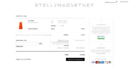Shopping Cart Design: 20 E-Commerce Website Designs
