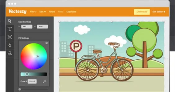 Vecteezy Launches a Free Vector Graphics Editor