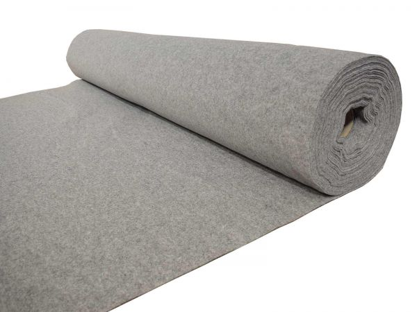 Light Grey 4 Way Stretch Van Lining Campervan Carpet (2m x