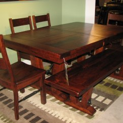 Chair Bench Table Stool Black Covers Cheap Kalamazoo Dining Room Furniture Sets