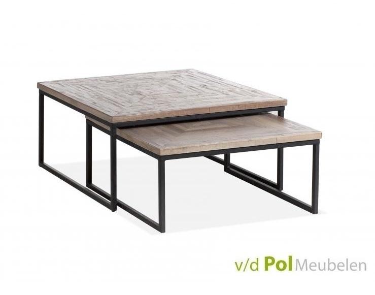 MF Design Set vierkante salontafels Mastercraft Kopen