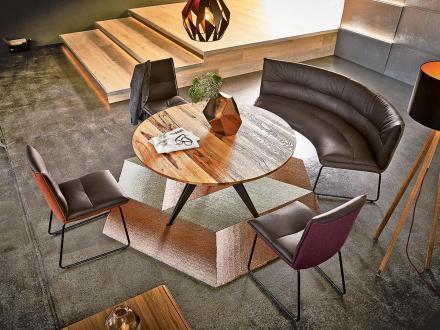 Moderne Ronde eetkamerbank Koinor essay Kopen