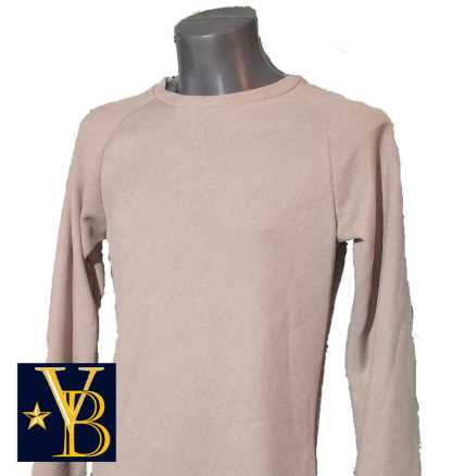 knitted sweater, beige, streret style