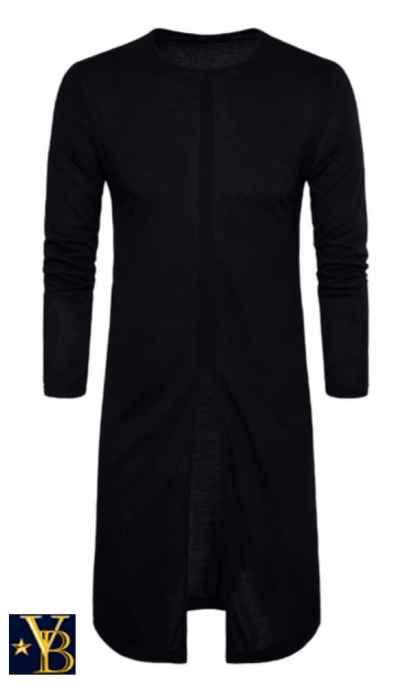 long long-sleeve black vanderbilt bijl