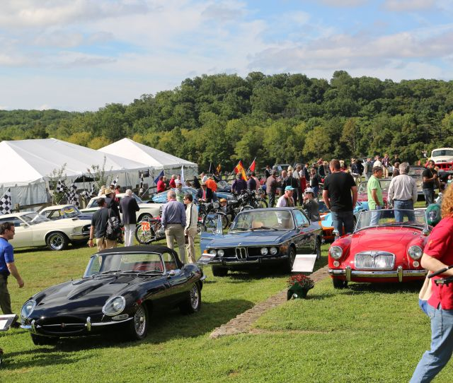 This Year The Radnor Hunt Concours Covered More Acreage Than Ever With A Burgeoning Presence Of Regional Car Clubs Each With Its Own Impromptu Display Of
