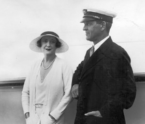 Vanderbilt Museum archives Rosamund and Willie Vanderbilt, aboard their 264-foot yacht Alva during the 1931 world cruise