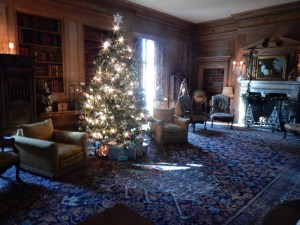 Vanderbilt Mansion library