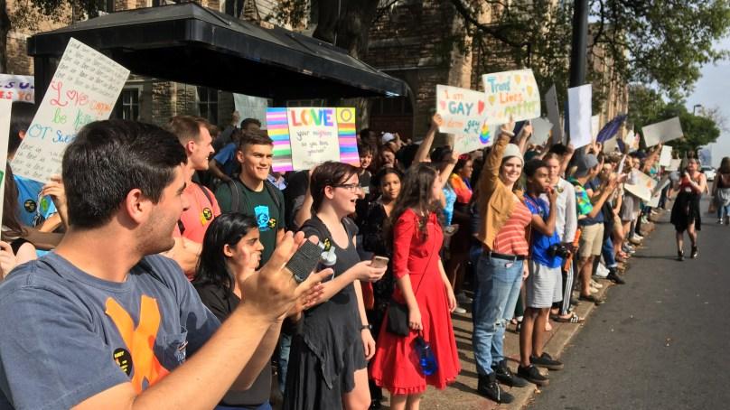 Westboro Baptist Dwarfed by Vanderbilt Counter-Protest