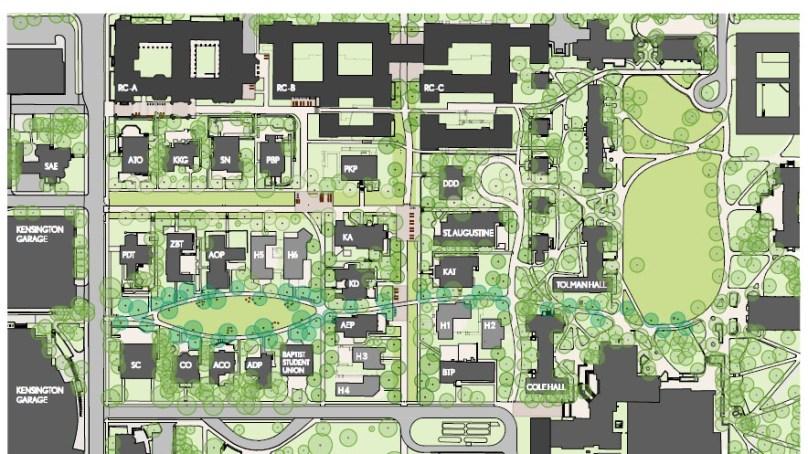 Future VU: No more parking on Greek Row?