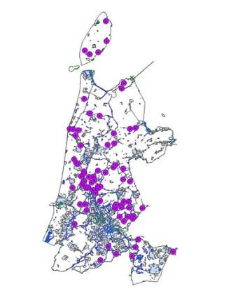 Locatie-meetnet-weidevogelplots-Noord-Holland