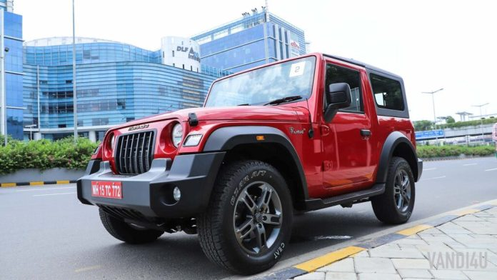 2020 All-New Mahindra Thar launched: Top 10 things to know | Vandi4u