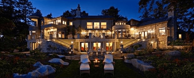 BC省市面10座最豪華房屋