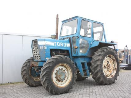FORD 9600 4WD 1978 Vintage Tractor Van Dijk Heavy Equipment