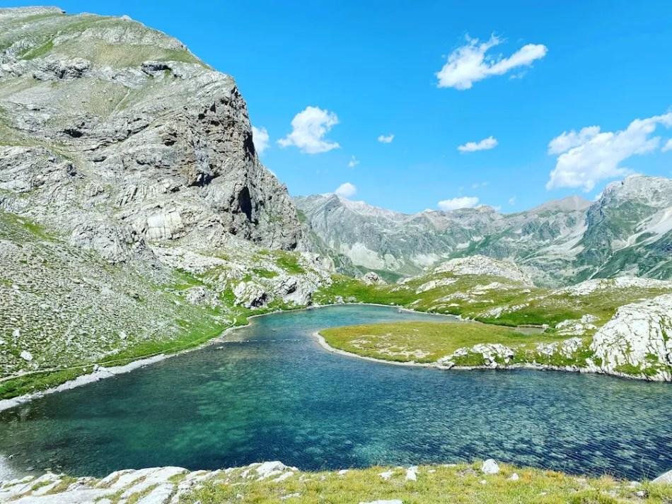 Valle Maira Lago Niera Sentiero Dino Icardi Bergsee Wandern Runderwanderweg