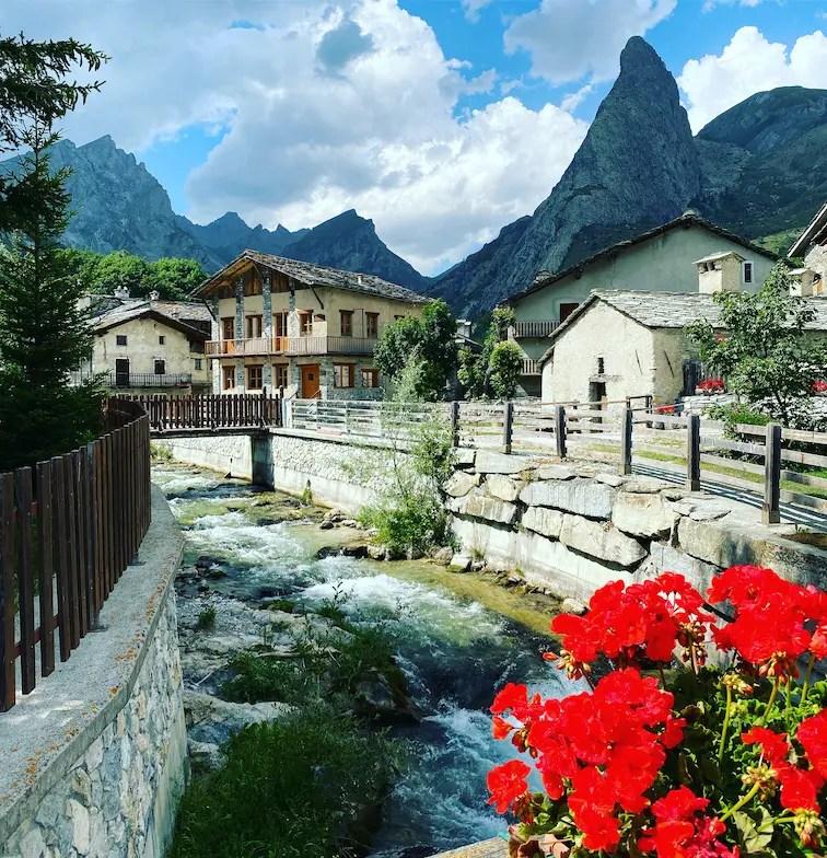 Valle Maira Chiappera wandern Piemonte Italien Cottische Alpen Rocca Provenzale