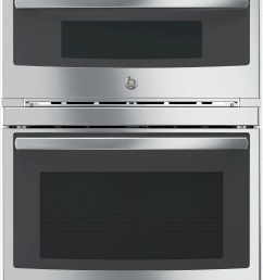 ge profile series 30 electric built in combination microwave oven stainless [ 885 x 1280 Pixel ]