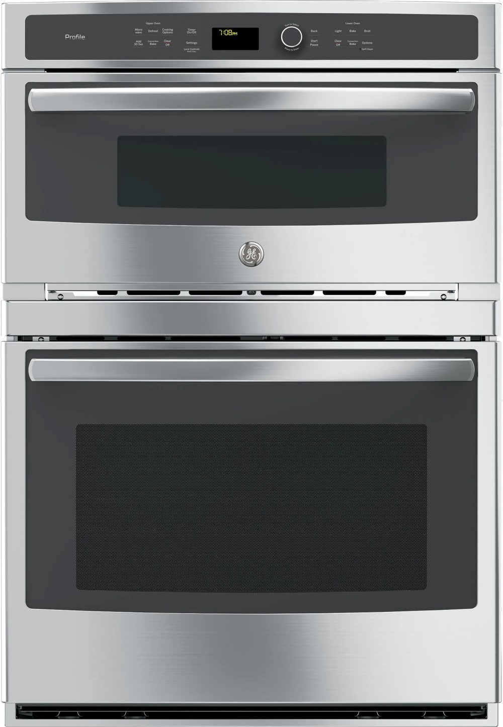 medium resolution of ge profile series 30 electric built in combination microwave oven stainless