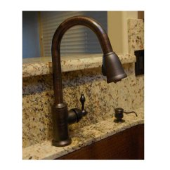 Single Kitchen Faucet Replacement Sprayer Premier Copper Handle With Pull Out Van Dyke S Restorers