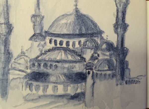Istanbul Art - Blue Mosque