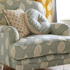 Traditional Armchairs For Living Room Lighting Ceiling Leaves Ferns Designer Made With Luxury Fabrics Rustic Country Furniture Vanessa Arbuthnott