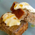 Feijoa loaf and mascarpone