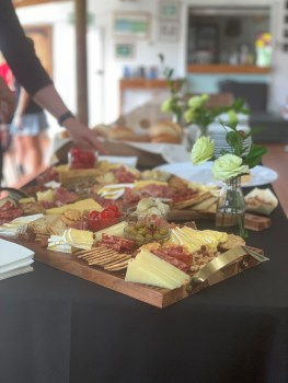 Antipasto Boards for a Bollinger afternoon tea