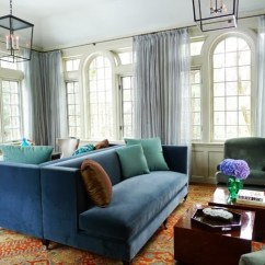Persian Rug Modern Living Room Leather Sectional Ideas Client Project + I Love Persians (rugs That Is!) - Vanessa ...