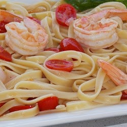 Pasta – Diablo Shrimp Saute