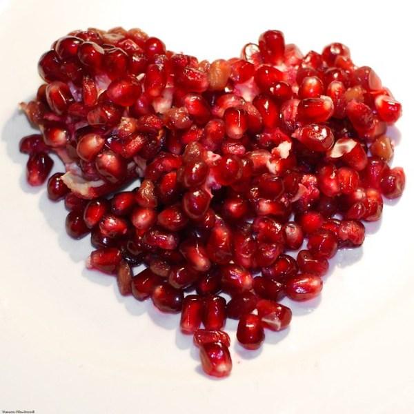 Macro: Pomegranate Heart